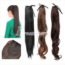 Schwarze lange Echthaar-Perücken & -Haarteile für Erwachsene Kunst