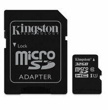 Kingston 32gb Micro SD Card SDHC TF Memory Card Class 10 UHS 1 With SD Adapter