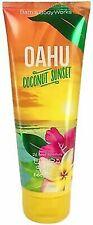 New Bath & Body Works Oahu Coconut Sunset Body Cream 8 oz