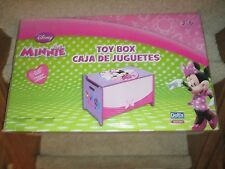 Delta Disney Junior Minnie Mouse Toy Box fun storage Bin Pink Purple