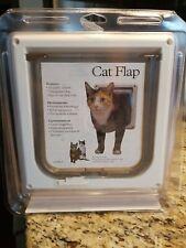 PetSafe Cat Flap 2-Way Locking Indoor Magnetic Cat / Small Dog Door A414-080-11