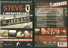 STEVE-O : L' INCONTROLABLE DE JACKASS / EDITION 2 DVD COLLECTOR / IMAGES CHOCS !