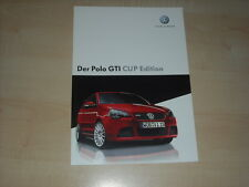 64958) VW Polo 9N GTi Cup Edition Prospekt 06/2007
