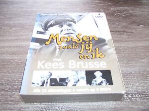 Mensen Zoals Jij En Ik Met Kees Brusse * 4 DVD BOX 2005 *