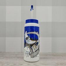 Vintage McDonald's Mac Tonight Plastic Drink Sipper Water Bottle