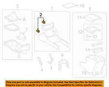 TOYOTA OEM-Front Console Clip 9046705172