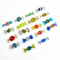 Vintage Murano Glass Sweets Candy 18pcs for Wedding Xmas Party Decorations
