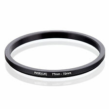 RISE (UK) 77-72MM 77MM-72MM 77 to 72 Step Down Ring Filter Adapter