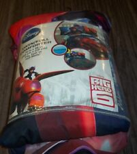 Walt Disney BIG HERO 6 TWIN / FULL SIZE COMFORTER BLANKET NEW