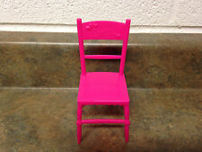 Barbie Doll Sister Chelsea Birthday Party Stacie Hot Pink Chair Dining Furniture