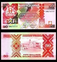 UGANDA 50 SHILLING 1998 P 30 UNC