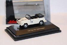 SCHUCO VW 181 Kübelwagen Herbie 53 / The Thing 1:87 EDITION weiß / white - OVP