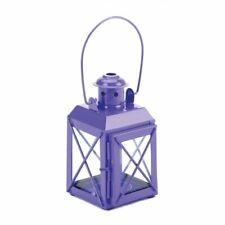 Mini Crisscross Candle Lamp Purple