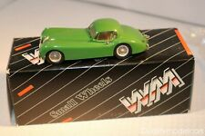 Western models 3 Jaguar XK120 Fixed Head Coupe green 1:43 perfect mint in box