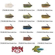 Strike King Jigs Football TDJ38 Choose 12 Colors 3/8oz Tour Grade Fishing Lures