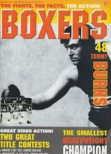 """BOXERS MAGAZINE TOMMY BURNS """"FIGHTS,FACTS,ACTION""""  VOLUME  #48  1996"""