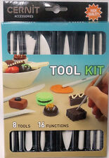 Cernit Werkzeug Set 8-teilig zum bearbeiten aller Modelliermassen