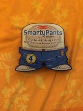 Smarty Pants Grade 4 Genius Melissa & Doug 120 Brain Building Cards Puzzles Game
