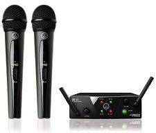 AKG WMS 40 Mini 2 Dual Vocal UHF Wireless Set WMS40 MINI2 Sealed Box NEW!!