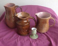Lot ceramiques  1970/80  Francis  Dumelié ceramiste Champenois type Vallauris