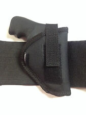 Ankle Holster Fits Ruger LCR 38 Special with Laser Grips Pro-Tech Black Nylon RH