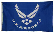 3x5 USAF III United States Military Air Force Wings Flag One Size  (Licensed) EE