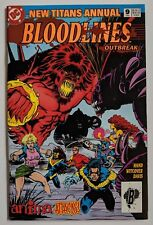 The New Teen Titans Annual #9 DC Comic 1993 Bloodlines Crossover Paul Witcover