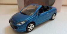 """Peugeot 307 CC Bleu 1/64 """"3 Inche"""" Diecast NOREV Produit NEUF !!"""