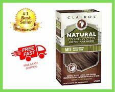 Clairol Natural Instincts Semi-Permanent Hair Color Kit For Men 3 Pack M11/17/9