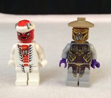 Lego Minifig Figure Ninjago Ninja LOT Snake Snappa Red White Authentic