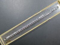 "Long SPEIDEL Ladies Vintage 10K White Gold Filled Watch Band..5 3/4""-10""Stretch"