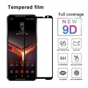 Tempered Glass Screen Protector Film Full Cover For ASUS ROG Phone 2 II QZ