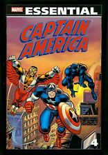 Marvel Essential ~ Captain America Vol 4 ~ Softcover 1st Printing ~ Marvel 2010