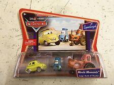 Disney Pixar Cars Luigi,Guido & Tractor SUPERCHARGED **GENUINE*SEALED** P130-A31