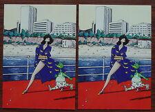 Carte postale Catalogue d'été permutant,Philippe Bertrand 1983 , postcard