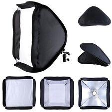 """40 x 40cm 16"""" Hotshoe Soft Box Kit Softbox for Canon 600EX 580EX II 430EX 420EX"""