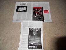 Classe Audio CA-400 Amplifier Review, 3 pg, 1995, Full Test, Info, Specs