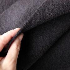Kochwolle Walkloden 100 % Wolle Trachten Braun dunkel Mittelalterstoff warm