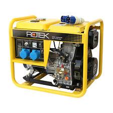 Stromerzeuger 5,5kVA Stromaggregat 230V Notstromaggregat Generator Diesel 1Phase
