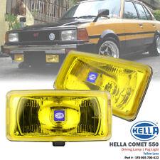 2 pcs HELLA Comet 550 Yellow 12V Driving Spot Light Fog Lamp Fix Corolla MR2
