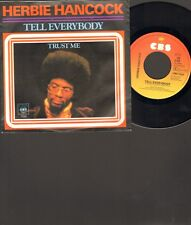 "HERBIE HANCOCK Tell Everybody SINGLE 7"" Trust Me 1979 HOLLAND"