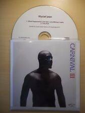 WYCLEF JEAN : WHAT HAPPENED TO LOVE *RARE FRENCH PROMO* [ CD SINGLE ]