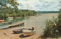Postcard Snug Harbor Webster Massachusetts