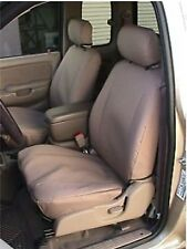 2001 2002 2003 2004 Toyota Tacoma Double Cab Exact Seat Cover Set Tan Twill