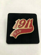 Kappa Alpha Psi Heirloom Letters Pin with Rubies