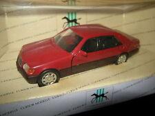 1:43 curseur Modèles Mercedes-Benz 600se w140 rouge/red OVP