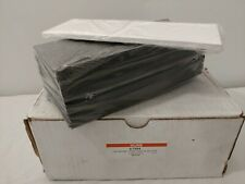 """25 Magnetic C-Channel Warehouse Card Holders - 3 x 8"""" Uline S-7694"""