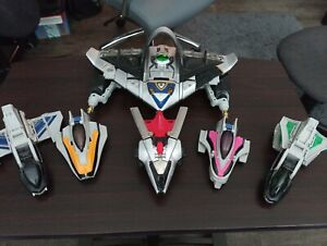 Power rangers time force and shadow megazord lot deluxe