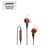 Bose SoundSport In-Ear Headphones - Power Red - Made for Apple