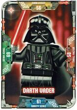 Lego Star Wars™ Series 1 Trading Cards Card 74 - Darth Vader